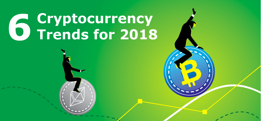 6 cryptocurrency trends for 2018 green picture